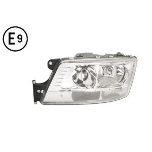 MAN TGS EURO6 FARO SINISTRO ELETTRICO-MOTORE-LED PARKING-LUCE DIURNA SENZA LAMPADINA (H7-H7-LED) OMOLOGATO E9 21011107D